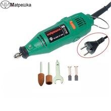 Electric drill Dremel grinding…