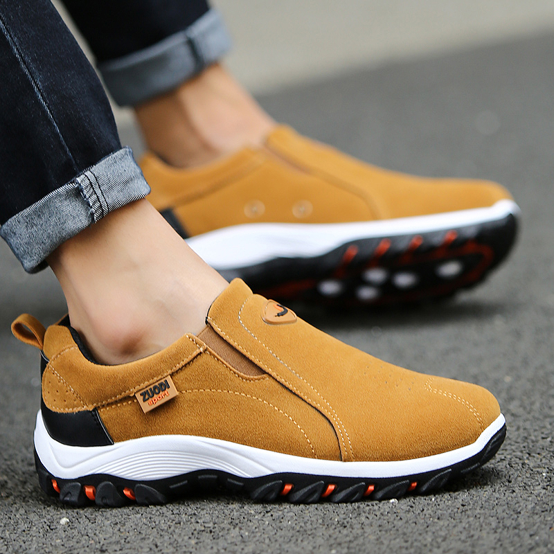 VSA269, Slip-on men loafers suede moccasins spring summer driving shoes comfortable light footwear soft flats hombres size 38-48 5