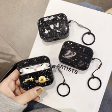 Bling Earphone Case for Airpords Pro Universal Stars Glitter Case for Apple Airpods 3 Pro Protect Co