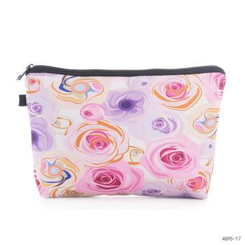 Fresh Fashion Portable Flowers Travel Cosmetic Bag Pencil Makeup Case Pouch Women Toiletry Wash Organizer Bag Female Coin Bags fresh fashion portable flowers travel cosmetic bag pencil makeup case pouch women toiletry wash organizer bag female coin bags