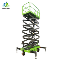 10m Aaerial Work Platform  Electric Hydraulic Mobile scissor lift