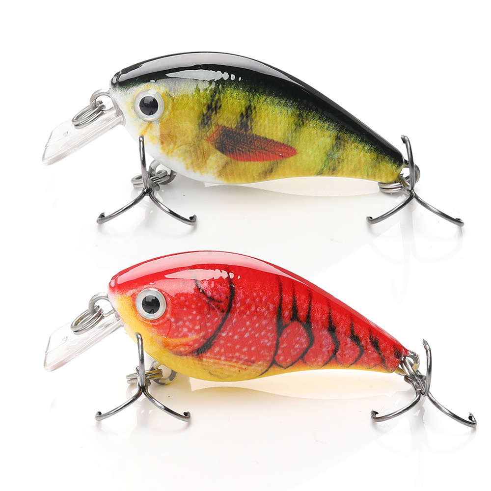 Image 4 - TREHOOK 4cm 5g Topwater Mini Crankbaits Fishing Lure Artificial Hard Bait Trolling Wobblers Fishing Tackle Lures Bass Swimbait-in Fishing Lures from Sports & Entertainment