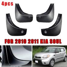 $ 13.02 4PCS Mud Flaps Fender Splash Guards Mudguards Kit For Kia Soul 2010-2011 Provide Excellent Lower Body Protection