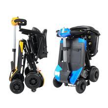 Четыре колеса электрический скейтборд электрические велосипеды 180 Вт 48 В мини складной электрический скутер для пожилых людей