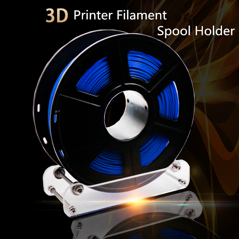 3D Printer Part Tabletop Filament Spool Holder Material Shelves Supplies Fixed Seat For ABS PLA 3D Printing Material Rack