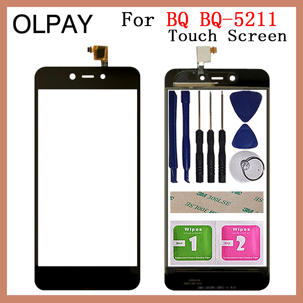 """Mobile Touch Screen Glass 5.2"""" inch For BQ BQ 5211 BQ5211 Strike 2018 Touch Screen Digitizer Glass Lens Repair Mobile Phone Touch Panel     - title="""