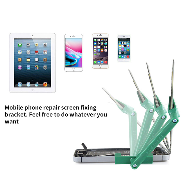 1 Pcs Phone Plastic Adjustable Fixture Holder For IPhone For Samsung S7 LCD Screen Repair Mobile Phone Disassemble Repair Tool 6