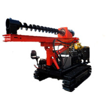 Full Automatic Shoring Drilling Machine Soil Sample Auger Pile Driver Price