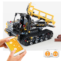 774PCS RC City Engineering Truck Forklift App Control Building Blocks Remote Control Truck Building Blocks Bricks Toys for Kids