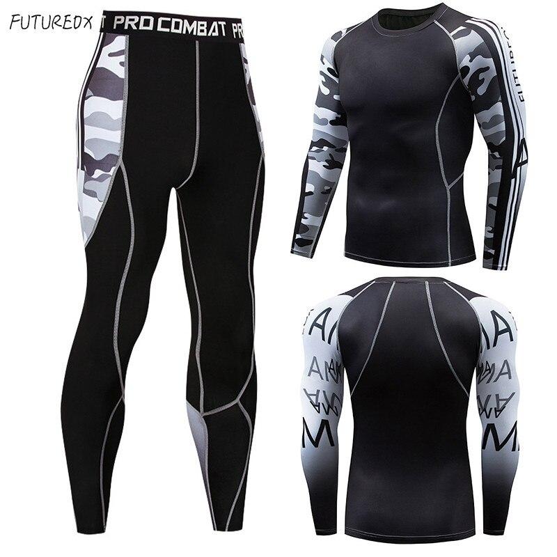 Mens Compression Shirts 3D Teen Wolf Jerseys Long Sleeve T Shirt Fitness Men Lycra MMA Crossfit T-Shirts Tights Sportswear Suit