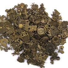 Подарки антикварные DIY подвески смешанные ремесленные браслеты амулеты Изготовление ювелирных изделий Винтаж