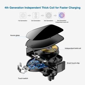 Image 5 - Suntaiho Qi Auto Draadloze Oplader voor XS Max Samsung S8 S10 Note10 Quick Draadloze Opladen Lader Auto Mount Mobiele Telefoon houder