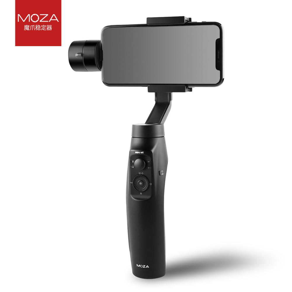 Moza Mini-MI 3-Achse Smartphone Drahtlose Lade Gimbal Stabilisator, Mehrere Themen Erkennung, Gründung Modus, timelapse
