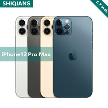Original Entsperren Marke Apple iphone 12pro max 5G 6.1 ''12MP Bionic Version 256GB Chinesische version A14 Bionic smartphone