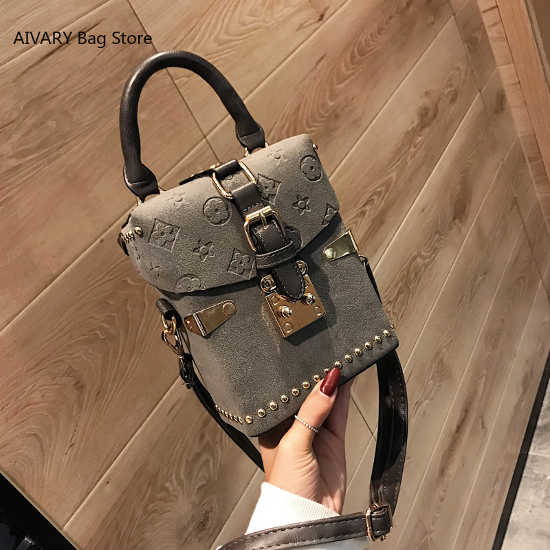 Handbags Box Package Square Bag Womens bag Korean Version of the Wild Messenger Bag Square Mobile Messenger Bag|Shoulder Bags| - AliExpress