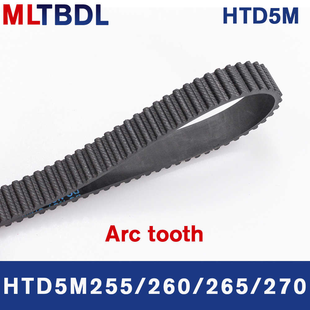 //Pitch 5mm Gear Timing Belt Transmission Drive Belt for CNC-Machine 700~900 T5