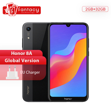 Global Version Honor 8A Smartphone 6.09 inch MT6765 Octa Core Mobile Phone Andro