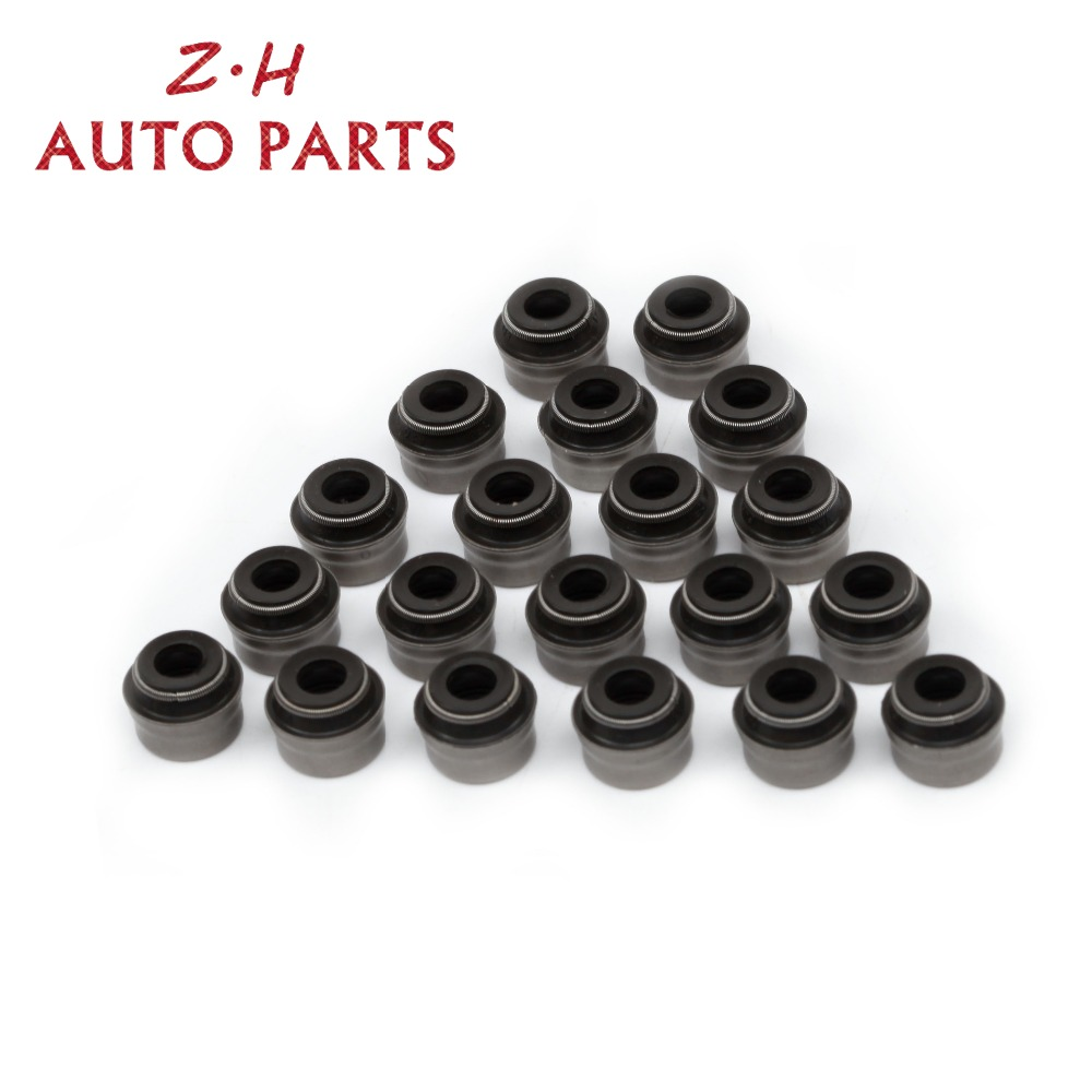 New 16Pcs 6mm Valve Stem Seals Kit 036 109 675 A For VW Volkswagen Seat Audi Skoda 06B109675B 036109675A 70-31306-10