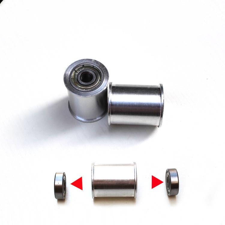 1 Piece Belt Grinder Knife Grinder Wheel Fully Aluminum Contact Wheel Active Wheel