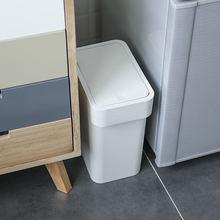 Новый узкий угловой мусорный контейнер для ванной пластиковый
