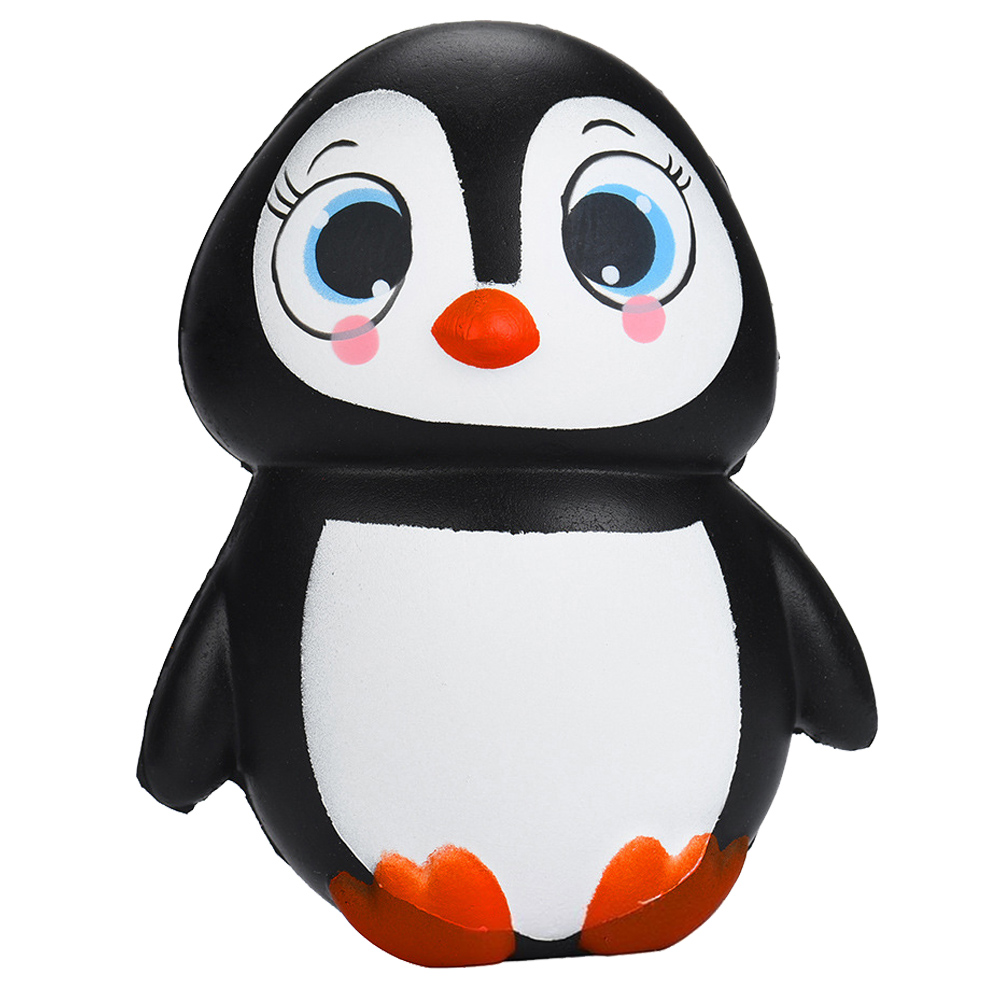 Squeeze Soft Squishies Adorable Penguin Slow Rising Cream Squeeze Scented Stress Relief Toys Funny Gift