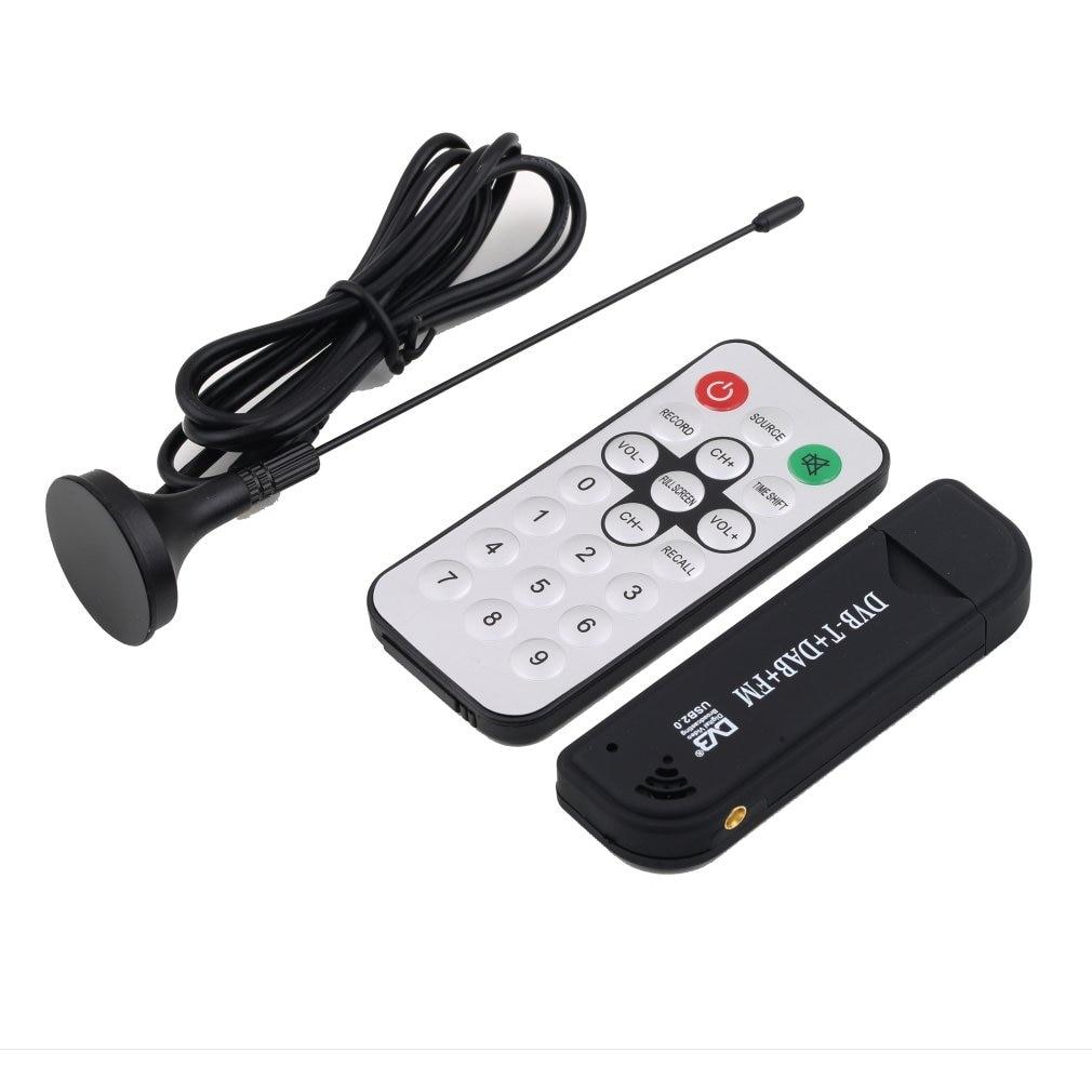 Супер цифровой ТВ-тюнер RTL2832U + R820T, приемник с антенной для ПК, поддержка ноутбука, SDR, оптовая продажа
