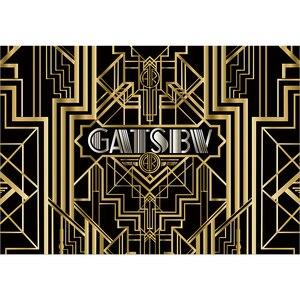 Image 2 - Funnytree Gatsby Vĩ Đại Trang Trí Phông Nền Chụp Ảnh Sweet 16 Đảng 18 Sinh Nhật Vàng Và Đen Sang Trọng Hình Nền Photozone