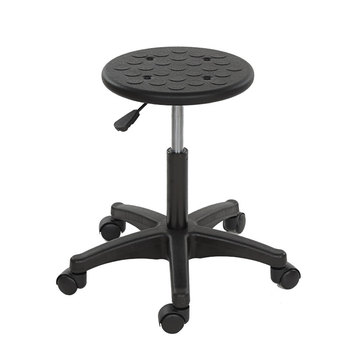 Lab Anti-static Lifting Work Round Stool Bar Chair Electronics Factory Production Workshop Assembly Line Pulley