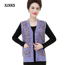 Tops Wear-Vests Cashmere Loose Autumn Plus-Size Winter Women New XJXKS Comfortable
