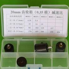 20 мм планетарной понижающей коробкой, шаговый привод для промышленной автоматизации передачи, я = 29: 1, интеллигентая(ый) регулировки, модуль m = 0,35