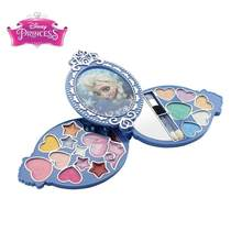 Kids Pretend Play Makeup Set Girls Princess Cosmetics Box Eye Shadow Blusher Safe Non-toxic Dressing Toy Birthday Christmas Gift(China)