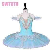 professonal 女の子バレエチュチュ青、ピンク BT9059 ための競争、クラシックバレエのチュチュブルー