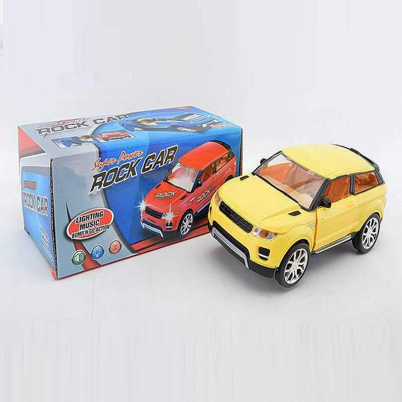 New Style CHILDREN'S Toy Electric Sway Door Opening Car Creative Shining Music Universal Rotating Race Car Stall Hot Selling