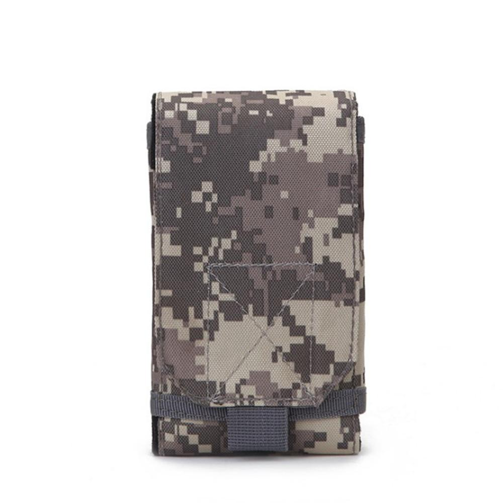 Outdoor Camouflage Bag Phone Holder Sport Waist Case Waterproof Nylon EDC Sport Hunting Bags In Backpack 30DC10