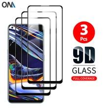 Screen Protector for OPPO Realme 5 6 7 5 Pro 6 Pro Tempered Glass Premium Full coverage Protection Glass Film for Realme 7 Pro