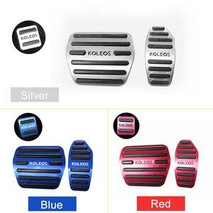 Image 5 - Pédales daccélérateur de voiture, frein de voiture, en alliage daluminium, couvercle antidérapant pour Renault Kadjar Koleos 2016, 2017 et 2018, accessoires
