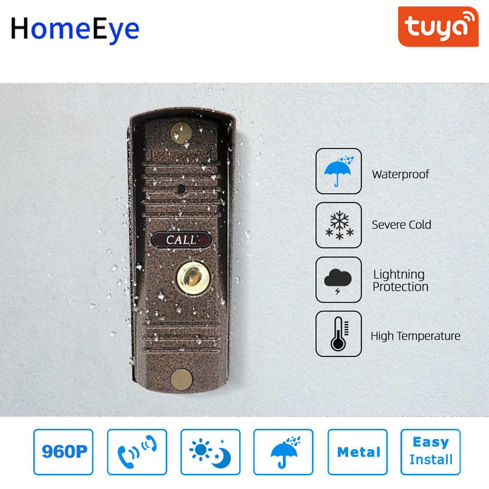 Tuya Kehidupan Cerdas APP Remote Control WIFI IP Video Telepon Interkom Video Keamanan Rumah Sistem Akses Kontrol Deteksi Gerak