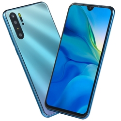 30 Pro Smartphone 6.3 Inch 3Gb + 16Gb for Android Os 9.0 Face Fingerprint Unlocked