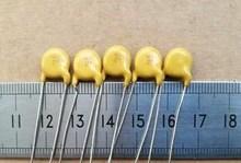 20pcs/lot High-voltage ceramic capacitors 6KV 54P 54J 6000V = 6KV 56P 56J