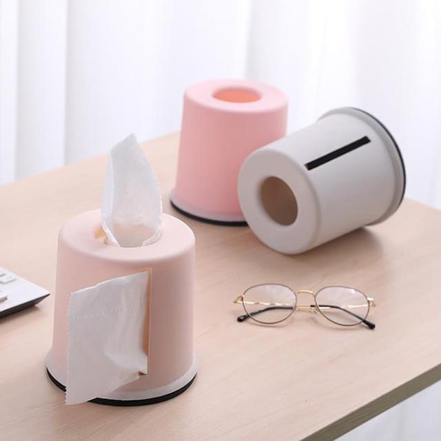 1PC Sanitary Rack Toilet Paper Holder Waterproof Tissue Box Shelves Bathroom