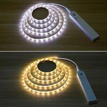 цена на Sensing Night Light LED Human Motion Sensor Body Closet Light Portable Wall Lamp For Bedroom Wardrobe