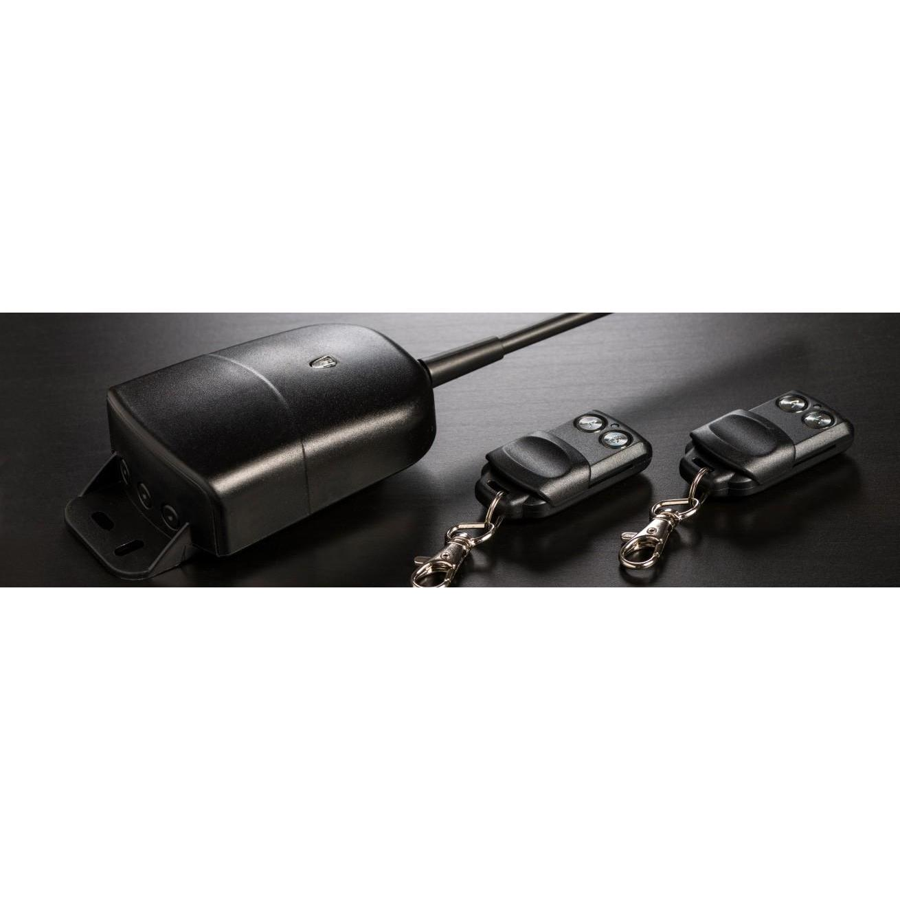 Kit ECU + 2 commandes Garage 868 MHz haut tableau électrique-868