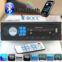 Auto Radio Single 1Din Mobil Stereo MP3 Player Di Dash Kepala Unit Bluetooth USB AUX FM Radio(China)