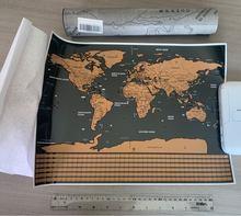 Papel fora do diário retro mundo globo mapa personalizado atlas cartaz com caso país bandeira decoração para escritório escola