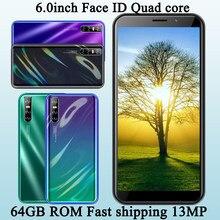 4gb ram 64gb rom a21s 13mp 6.0 polegada tela rosto desbloqueado quad core global smartphones celulares android celulares celulares celulares