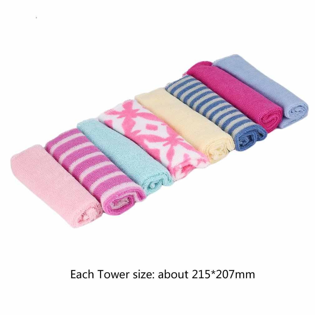 OUTAD paño para niños alimentación de bebé toallas faciales para bebé lavadoras mano lindo dibujos animados trapo de lavado de algodón para alimentar el baño caliente