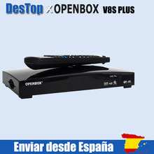 2PCS Original Openbox V8S PLUS Satellite Empfänger S V8 Unterstützung 2xUSB USB Wifi WEB TV Cccamd Newcamd Wetter prognose Biss Schlüssel