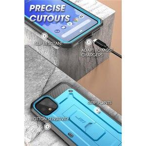 Image 5 - Suporte para google pixel 4 xl case (2019) ub pro capa protetora de prendedor, película de corpo inteiro robusta com capa protetora de tela embutida