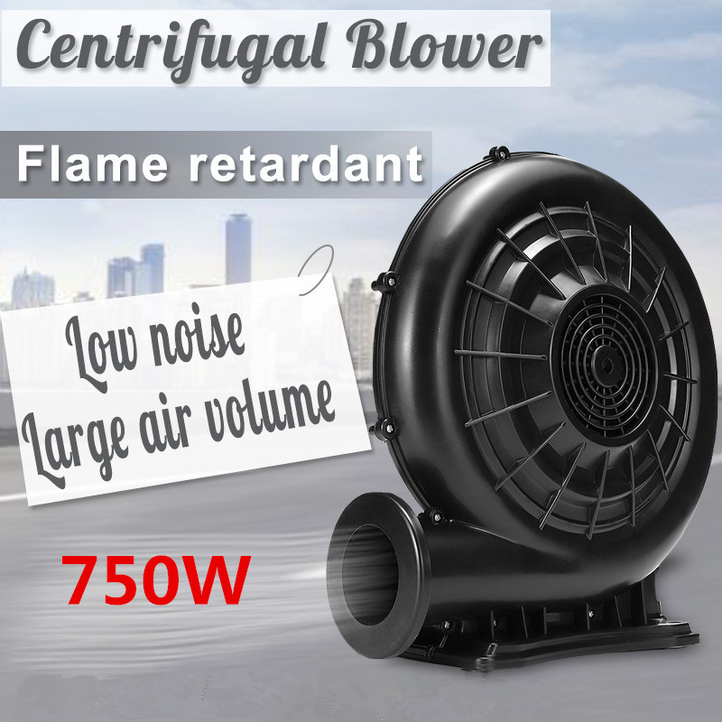 Professional 250W-750W Electric Air Blower Pump Fan Centrifugal Blower Machine Pump Inflatable Screen Blower For Wedding Party
