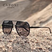 CAPONI Men Sunglasses 2020 New Photochromic Polarized Sun Glasses Women Anti UV